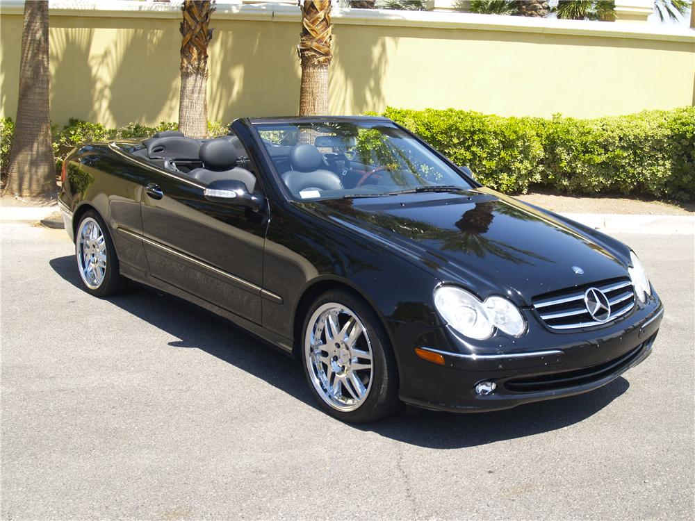2005 mercedes benz clk 320 convertible 157454. Black Bedroom Furniture Sets. Home Design Ideas