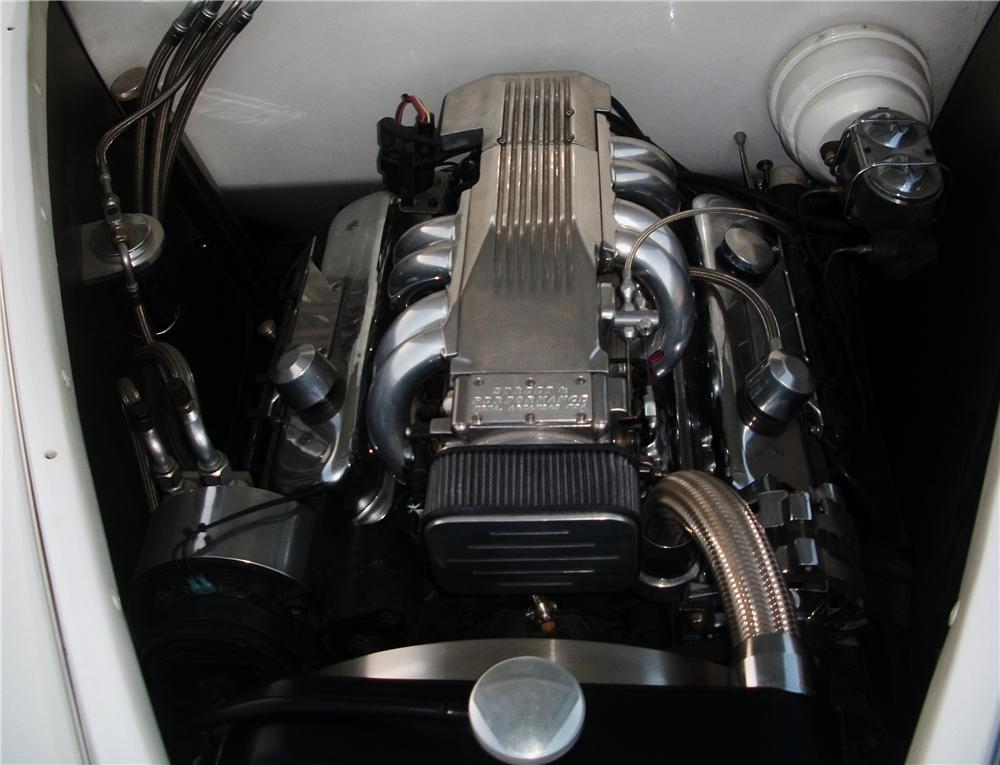 1939 LINCOLN ZEPHYR CUSTOM CONVERTIBLE - Engine - 157460