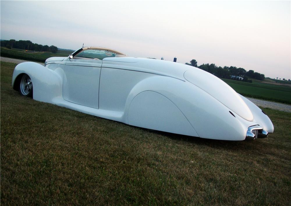 1939 LINCOLN ZEPHYR CUSTOM CONVERTIBLE - Rear 3/4 - 157460