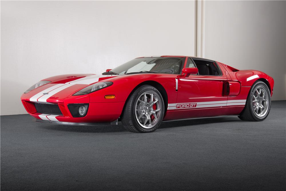 Ford Gt  Door Coupe Front