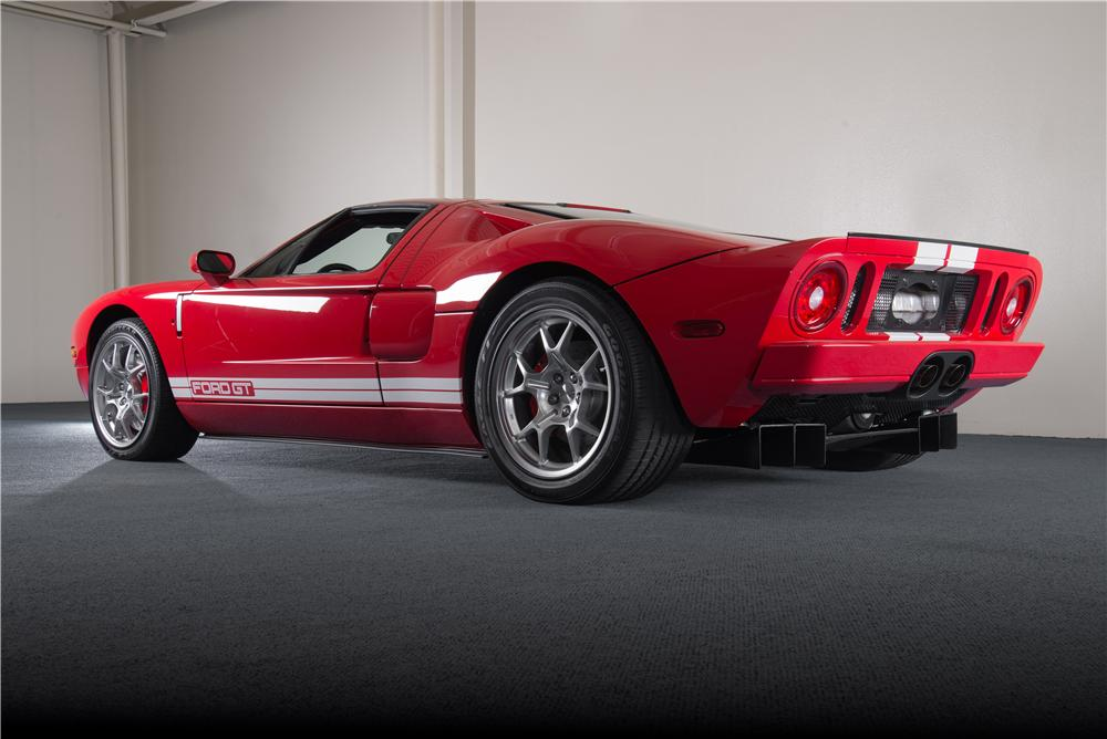 2005 FORD GT 2 DOOR COUPE - Rear 3/4 - 157464