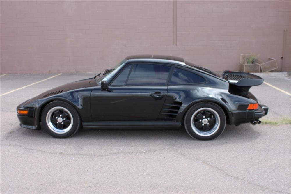 1985 PORSCHE 930 2 DOOR - Side Profile - 157479