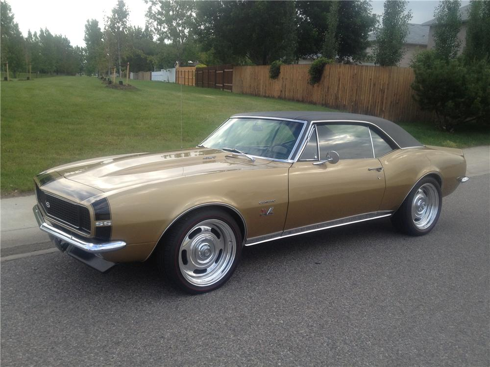 1967 Chevrolet Camaro Custom 2 Door Coupe