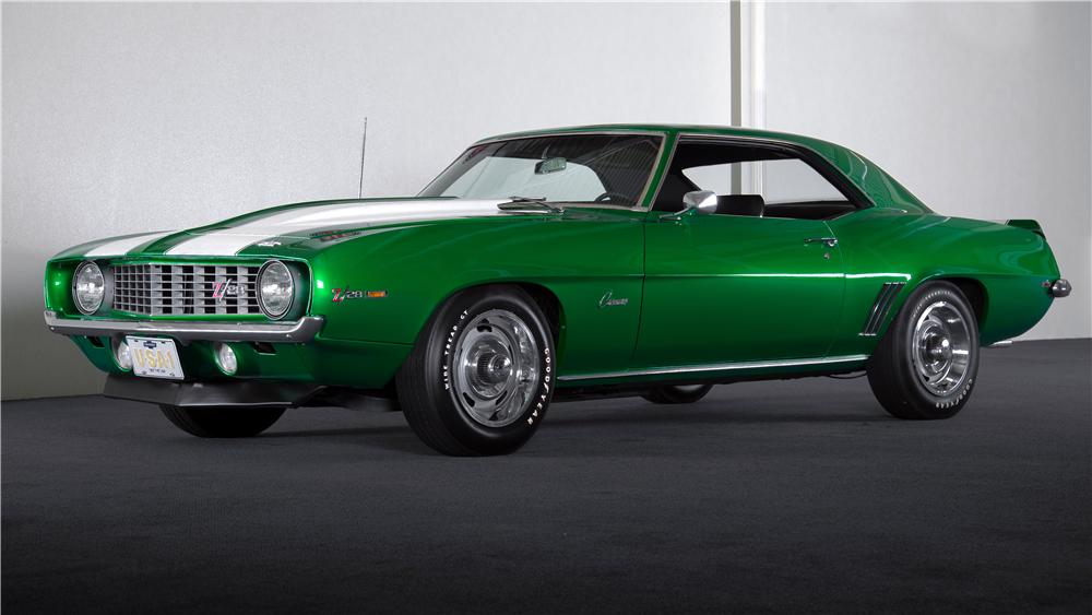 1969 CHEVROLET CAMARO Z/28 2 DOOR COUPE - Front 3/4 - 157486
