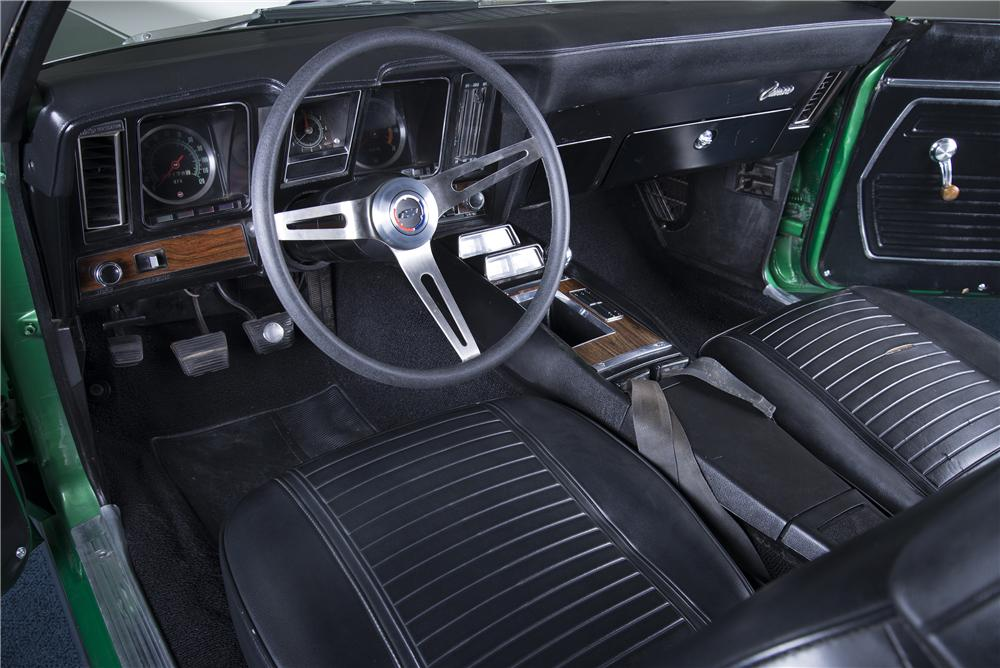 1969 CHEVROLET CAMARO Z/28 2 DOOR COUPE - Interior - 157486