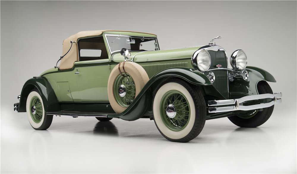 1931 LINCOLN MODEL K CONVERTIBLE - Front 3/4 - 157495