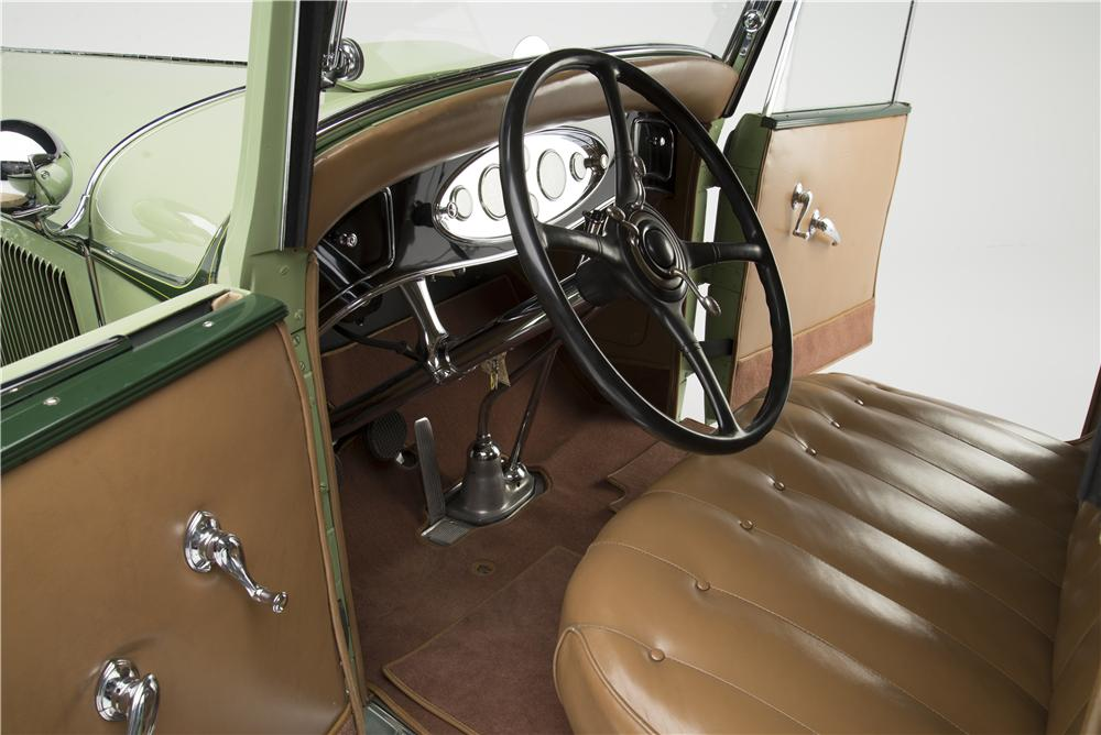 1931 LINCOLN MODEL K CONVERTIBLE - Interior - 157495