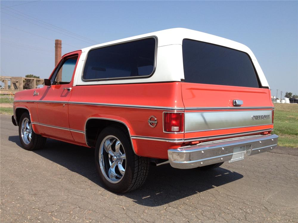 1976 CHEVROLET BLAZER SUV - Rear 3/4 - 157504