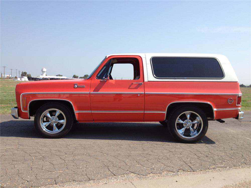 1976 CHEVROLET BLAZER SUV - Side Profile - 157504