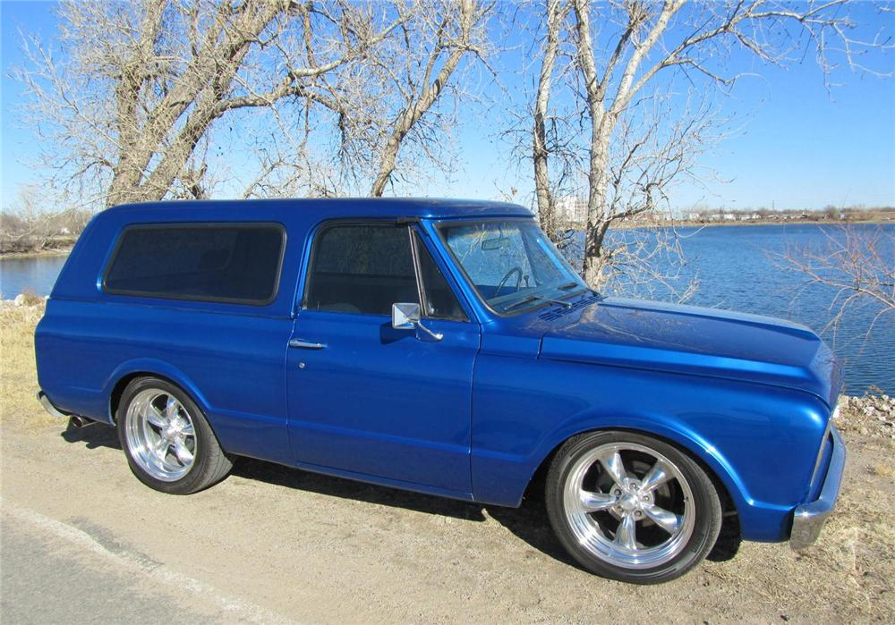 1970 CHEVROLET BLAZER CUSTOM SUV - Side Profile - 157508