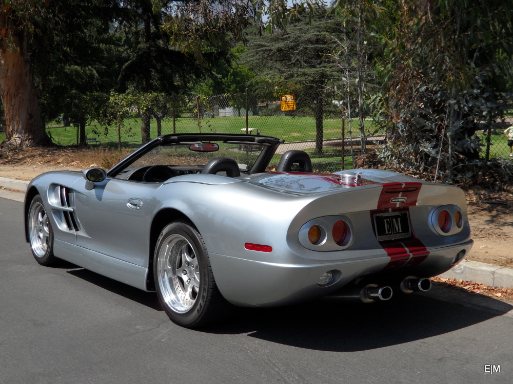 1999 SHELBY SERIES 1 CONVERTIBLE - Rear 3/4 - 157517
