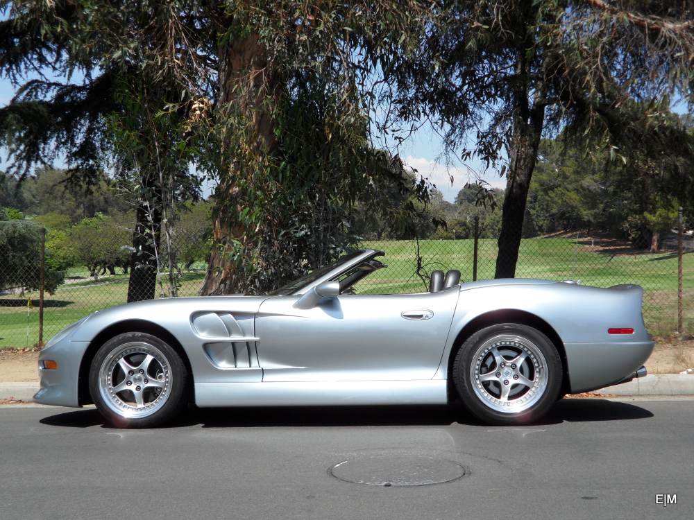 1999 SHELBY SERIES 1 CONVERTIBLE - Side Profile - 157517