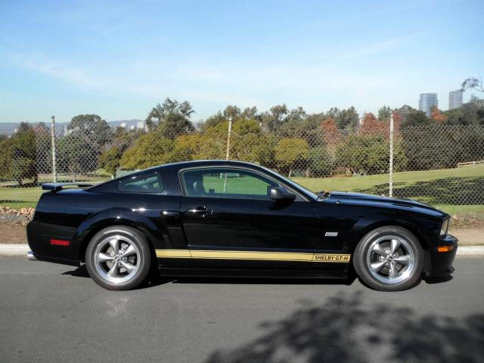 2006 SHELBY GT-H 2 DOOR COUPE - Side Profile - 157519