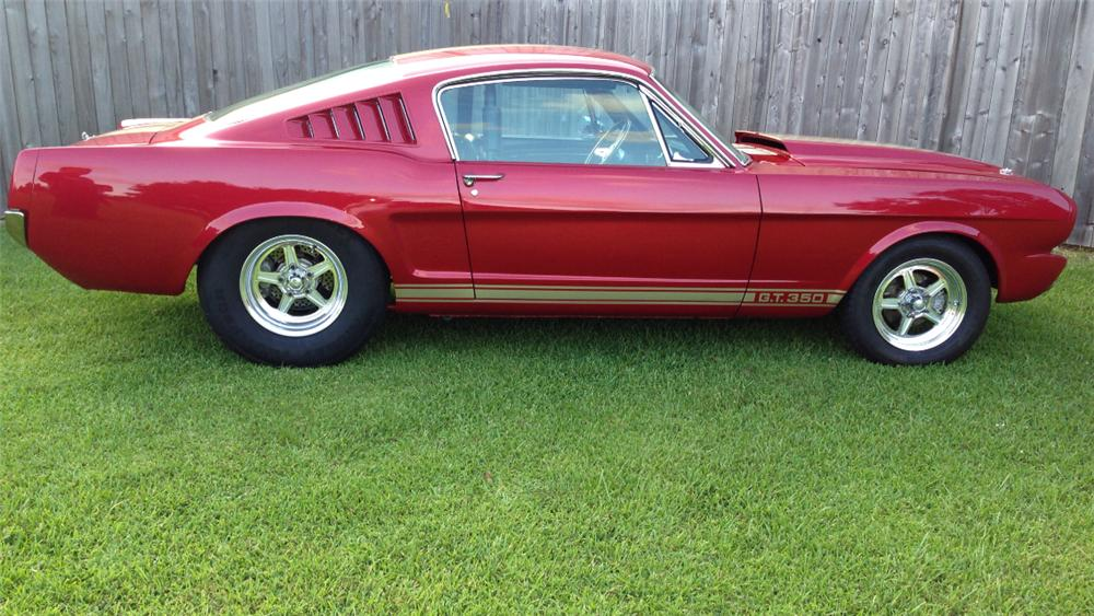 1965 FORD MUSTANG CUSTOM FASTBACK - Side Profile - 157523