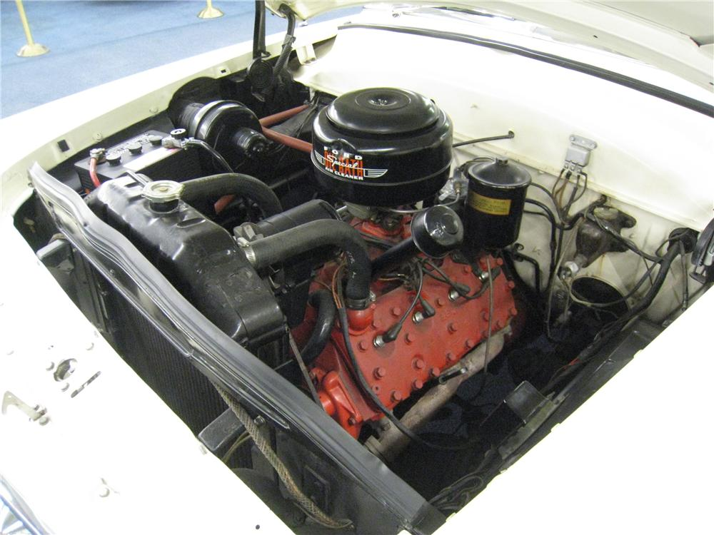 1953 FORD CRESTLINE SUNLINER CONVERTIBLE - Engine - 157524
