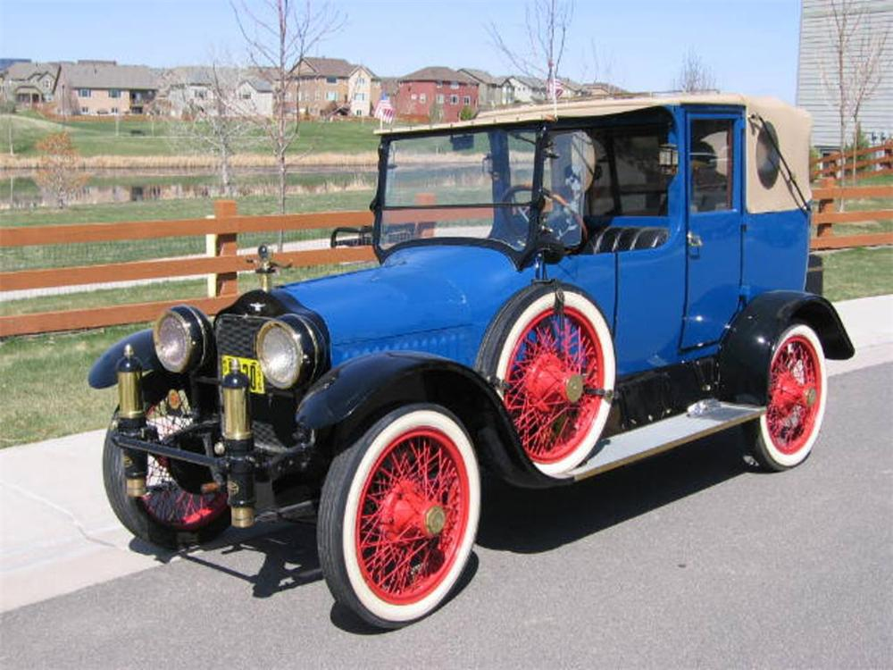 1915 WHITE CUSTOM TOWN CAR - Front 3/4 - 157535