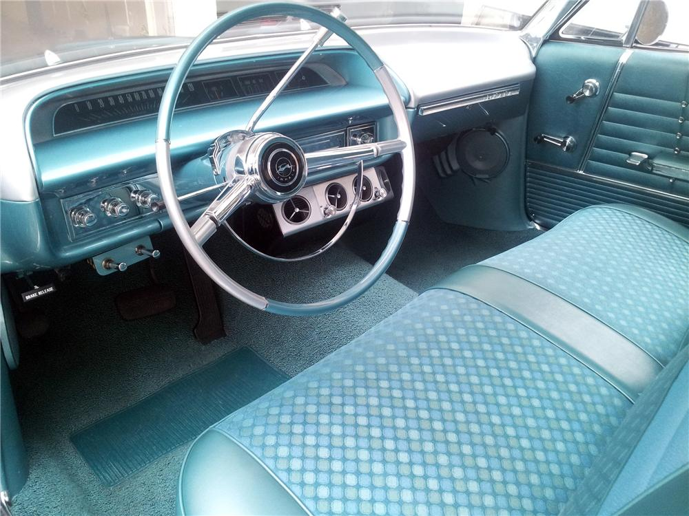 1964 CHEVROLET IMPALA CUSTOM 2 DOOR HARDTOP - Interior - 157536