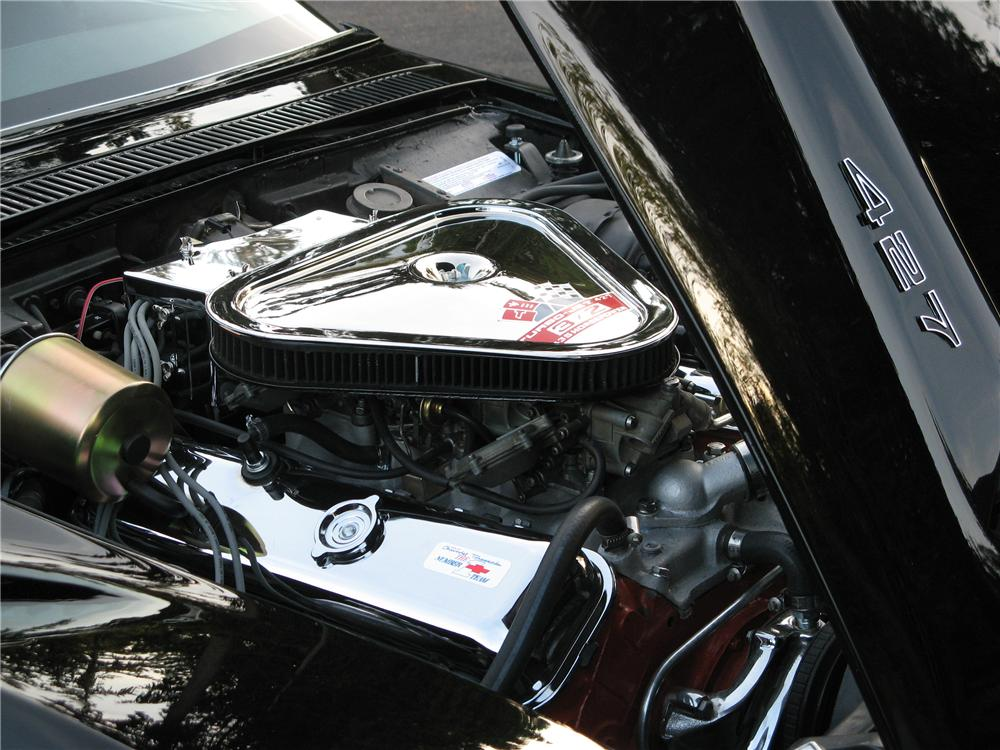 1969 CHEVROLET CORVETTE 2 DOOR COUPE - Engine - 157545