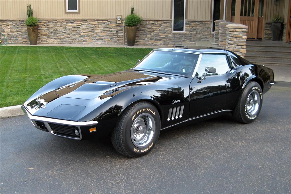 1969 Chevrolet Corvette 2 Door Coupe 157545