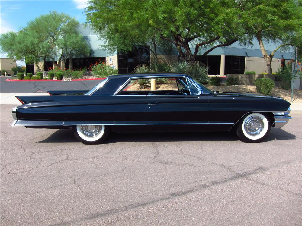1962 CADILLAC COUPE DE VILLE 2 DOOR HARDTOP - Side Profile - 157556
