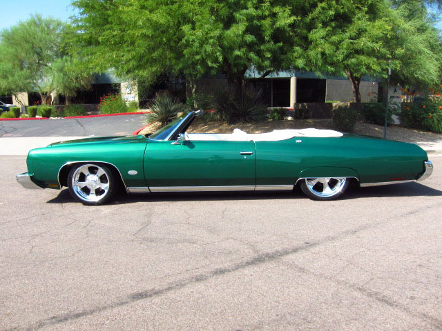 1973 CHEVROLET CAPRICE CLASSIC CUSTOM CONVERTIBLE - Side Profile - 157558