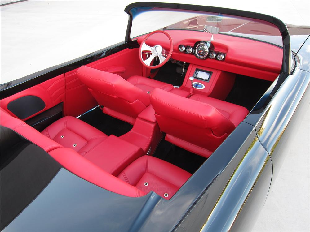 1960 CADILLAC CUSTOM TOPLESS ROADSTER - Interior - 157561