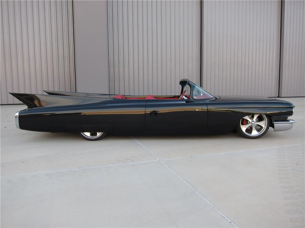 1960 CADILLAC CUSTOM TOPLESS ROADSTER - Side Profile - 157561