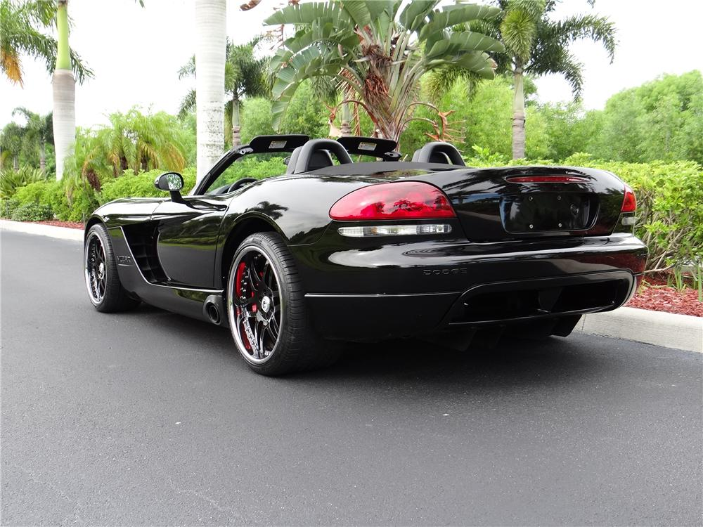 2006 DODGE VIPER CUSTOM ROADSTER - Rear 3/4 - 157562
