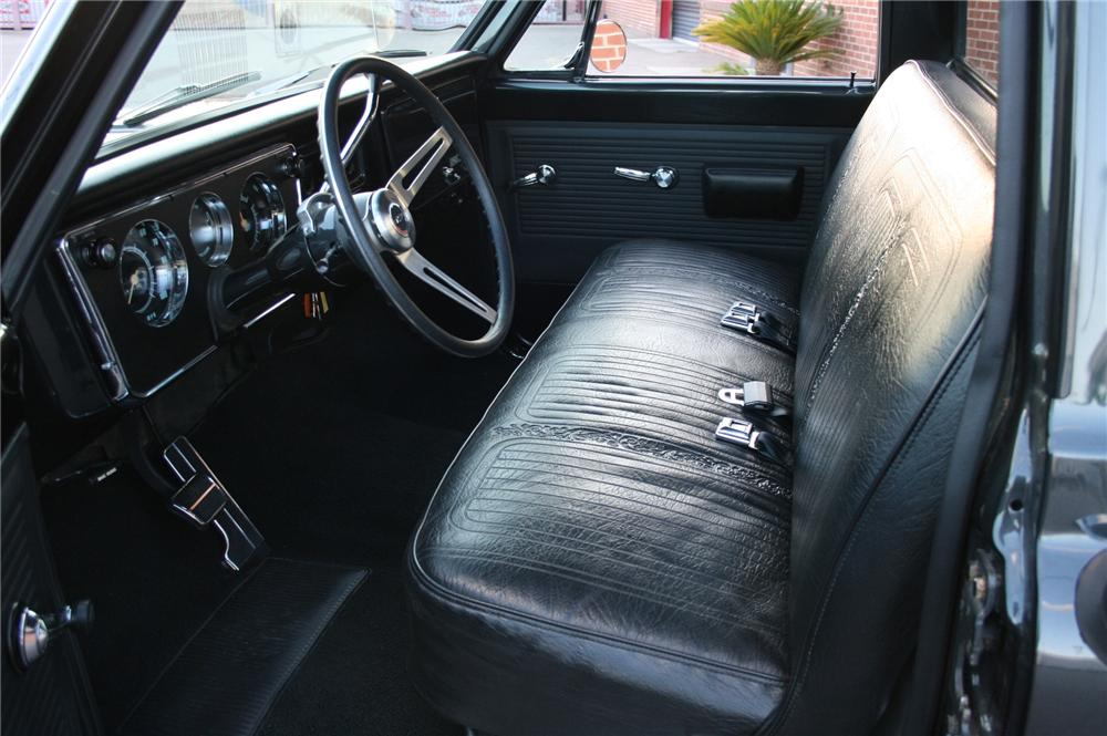 1969 CHEVROLET C-10 CUSTOM PICKUP - Interior - 157564