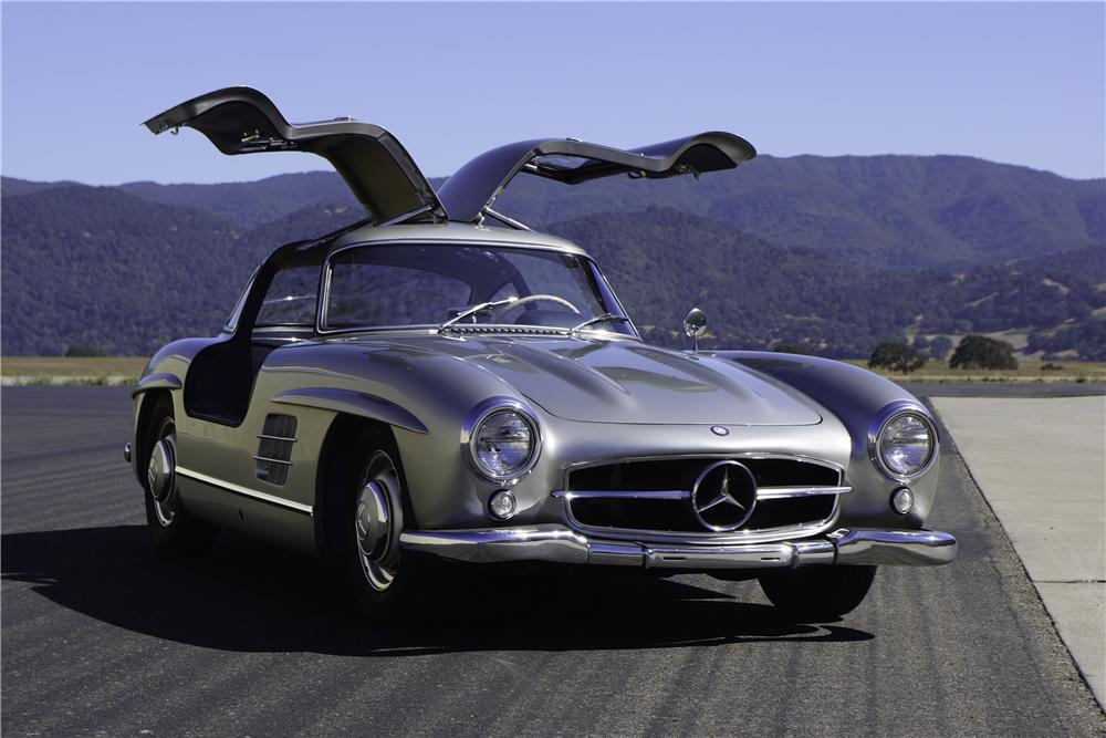 1956 mercedes benz 300sl gullwing coupe 157566