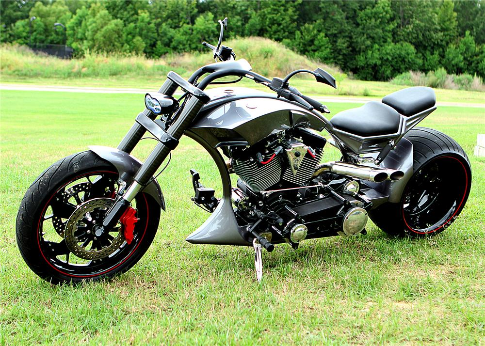 2012 HARDCORE SPEEDSTER CUSTOM MOTORCYCLE - Side Profile - 157568