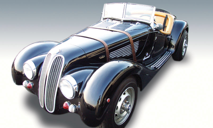 1976 BMW ROADSTER 1938 FACTORY RE-CREATIO - Front 3/4 - 15757