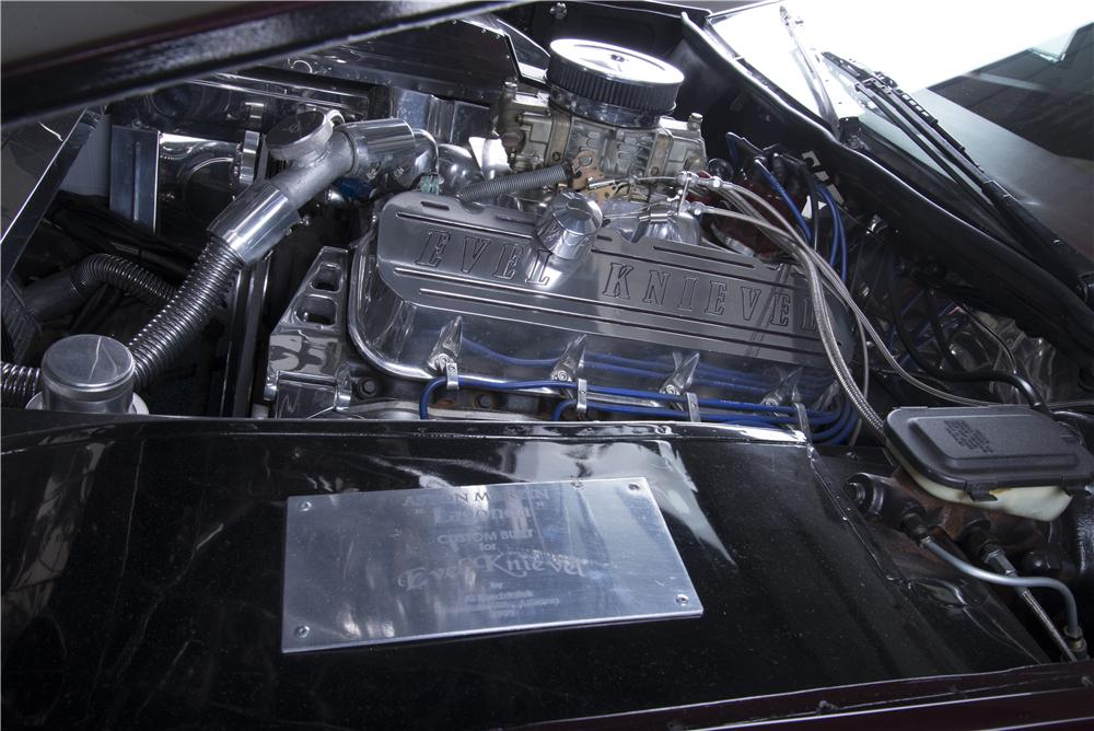 "1984 ASTON MARTIN LAGONDA CUSTOM SEDAN ""EVEL KNIEVELS"" - Engine - 157570"