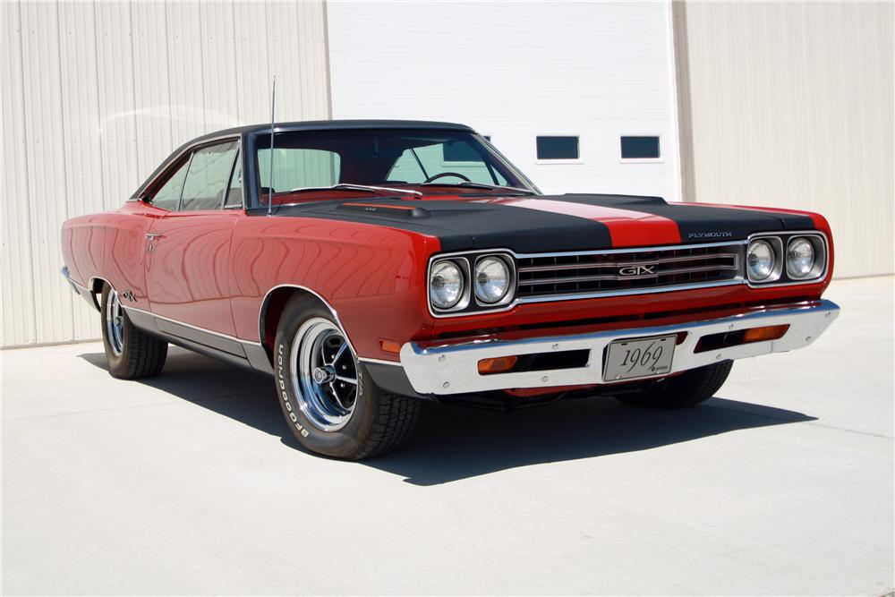 1969 PLYMOUTH GTX 2 DOOR COUPE - Front 3/4 - 157578