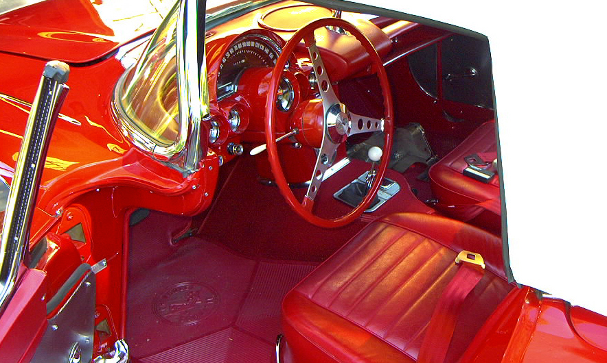 1959 CHEVROLET CORVETTE FI CONVERTIBLE - Interior - 15758