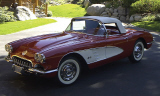 1959 CHEVROLET CORVETTE FI CONVERTIBLE -  - 15758