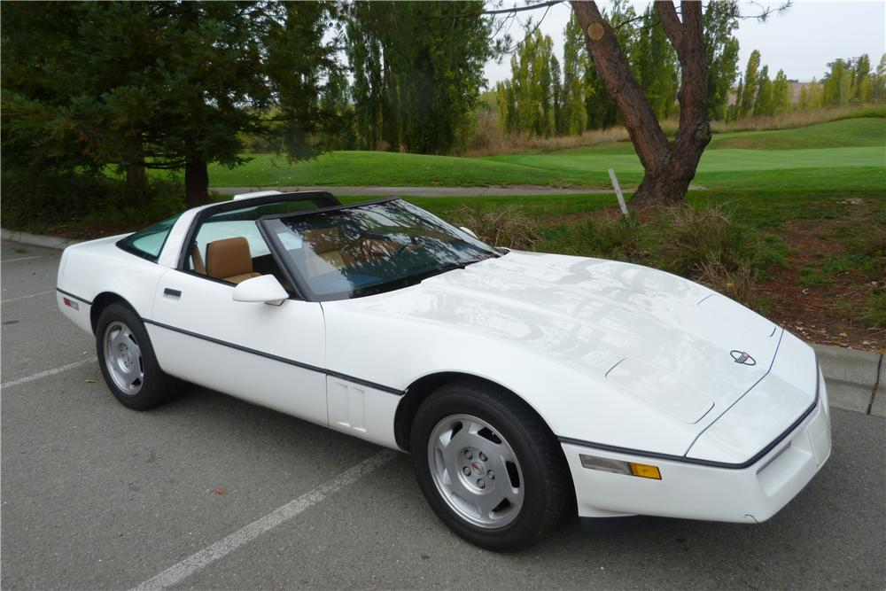 1988 CHEVROLET CORVETTE 2 DOOR COUPE - Side Profile - 157581