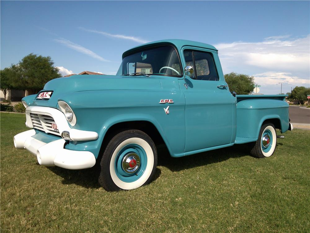 1957 GMC 100 PICKUP - Front 3/4 - 157584
