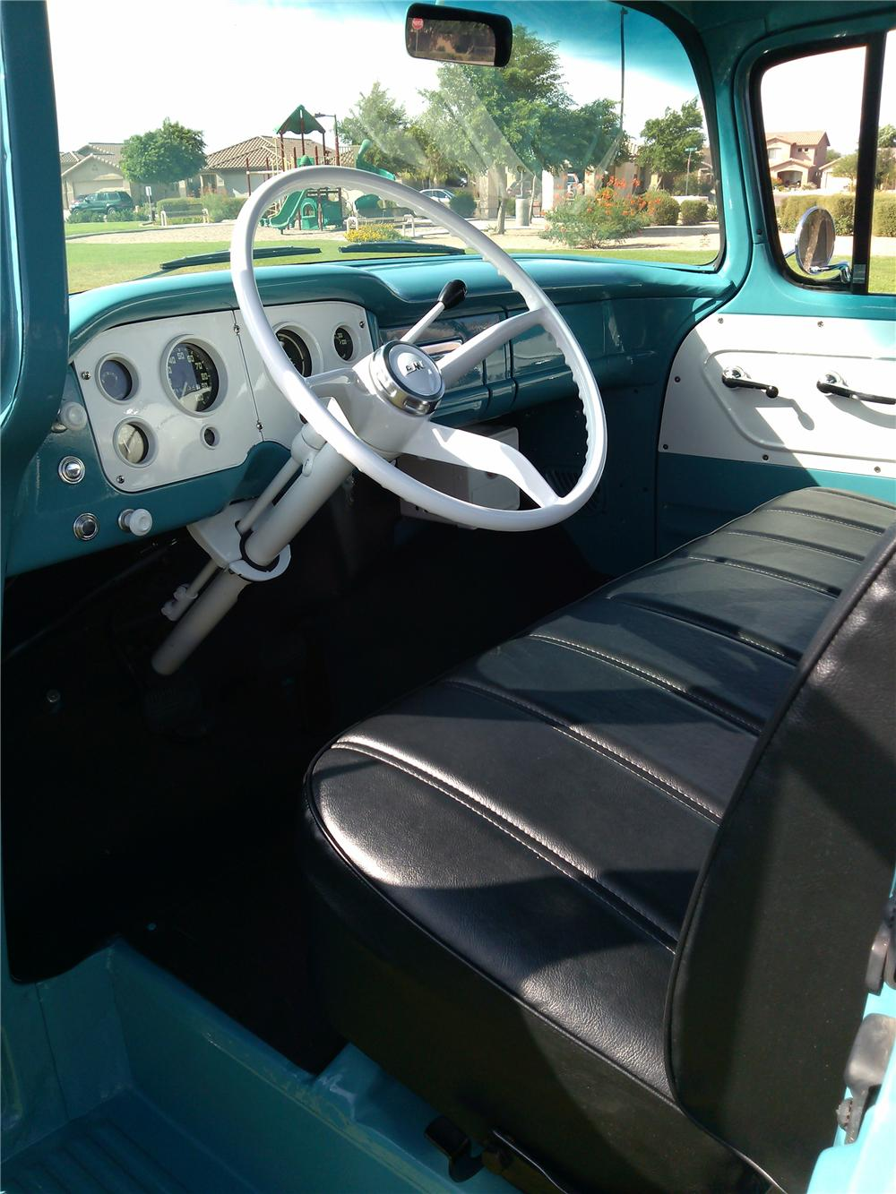 1957 GMC 100 PICKUP - Interior - 157584