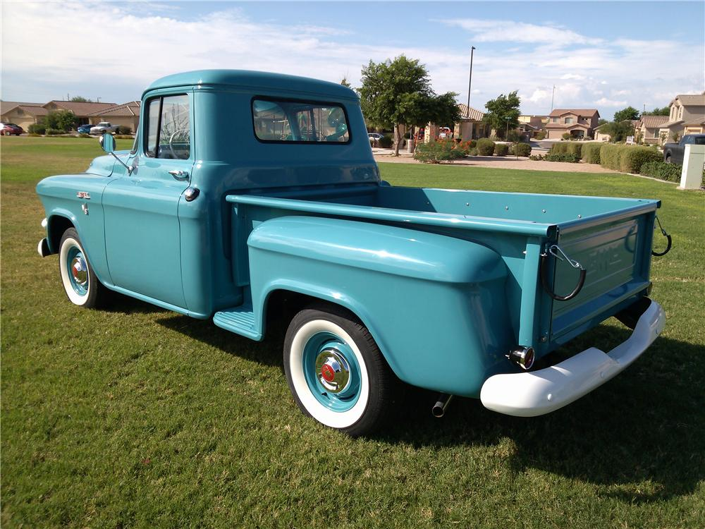 1957 GMC 100 PICKUP - Rear 3/4 - 157584