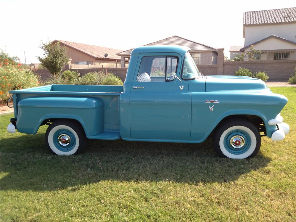 1957 GMC 100 PICKUP - Side Profile - 157584