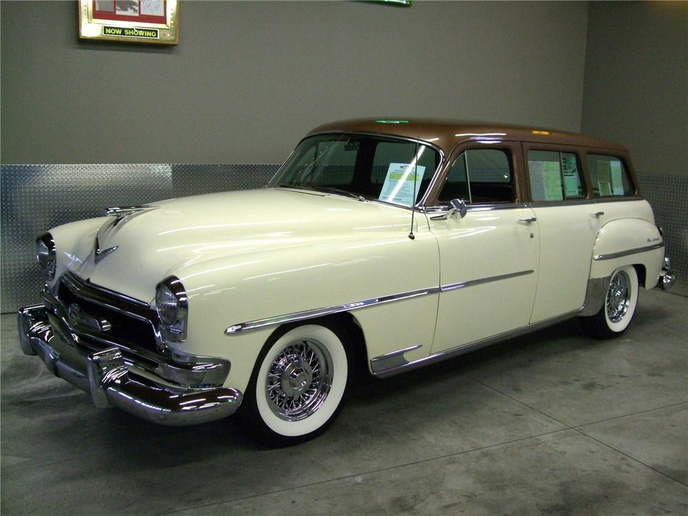 1954 CHRYSLER NEW YORKER STATION WAGON - Side Profile - 157588