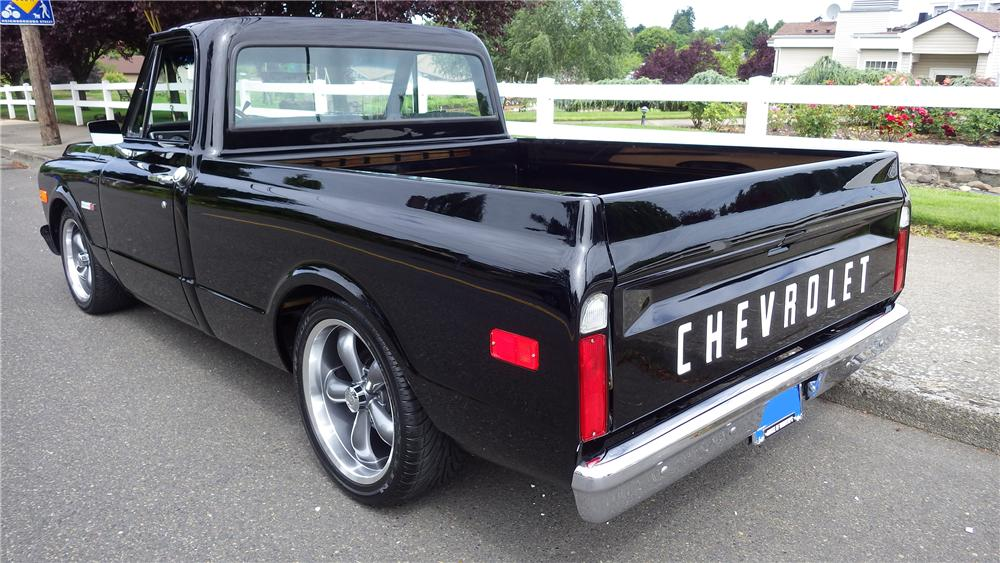 1972 CHEVROLET C-10 CUSTOM PICKUP - Rear 3/4 - 157589