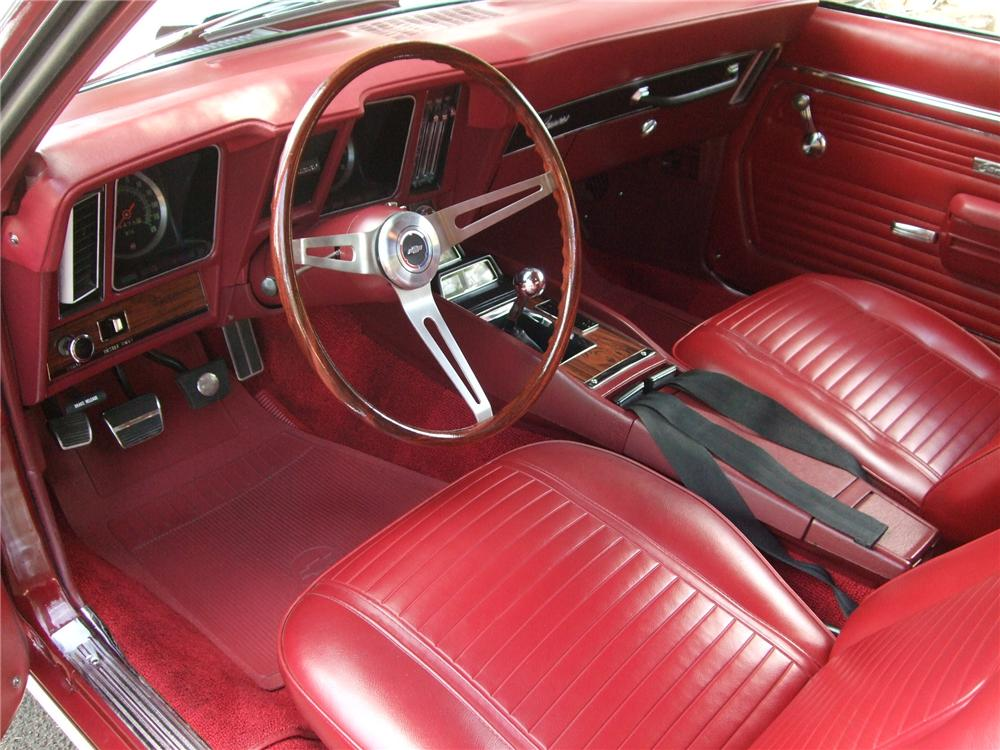 1969 CHEVROLET CAMARO Z/28 2 DOOR COUPE - Interior - 157591
