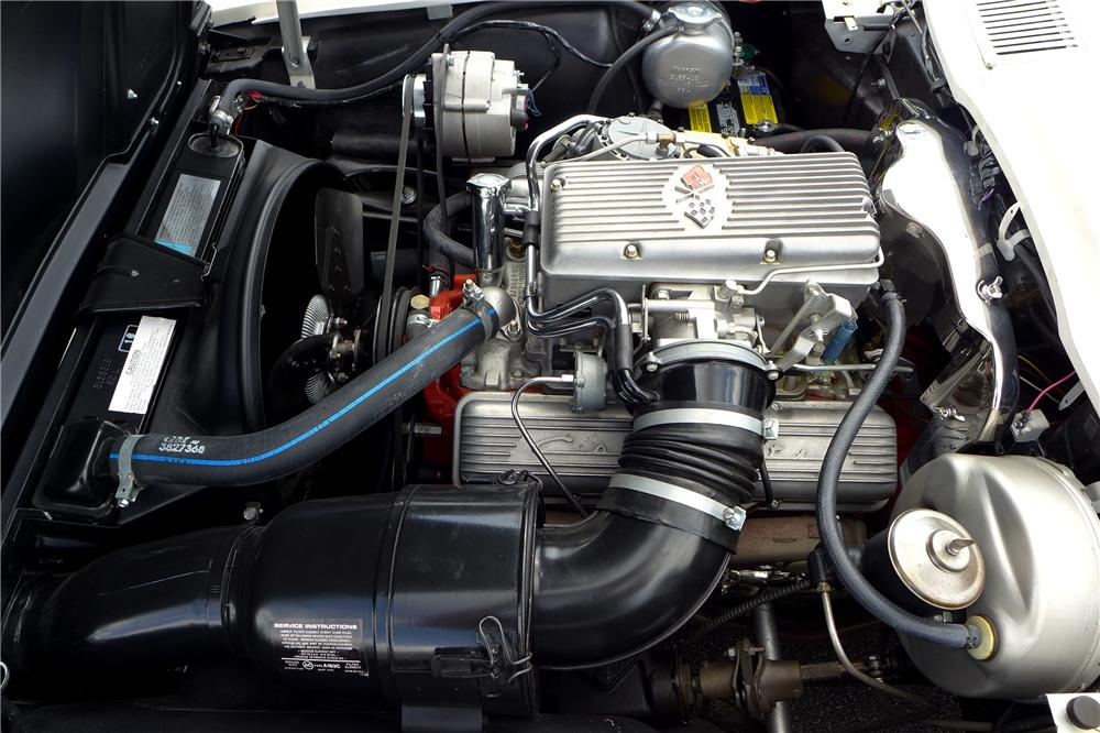 1963 CHEVROLET CORVETTE CONVERTIBLE - Engine - 157595