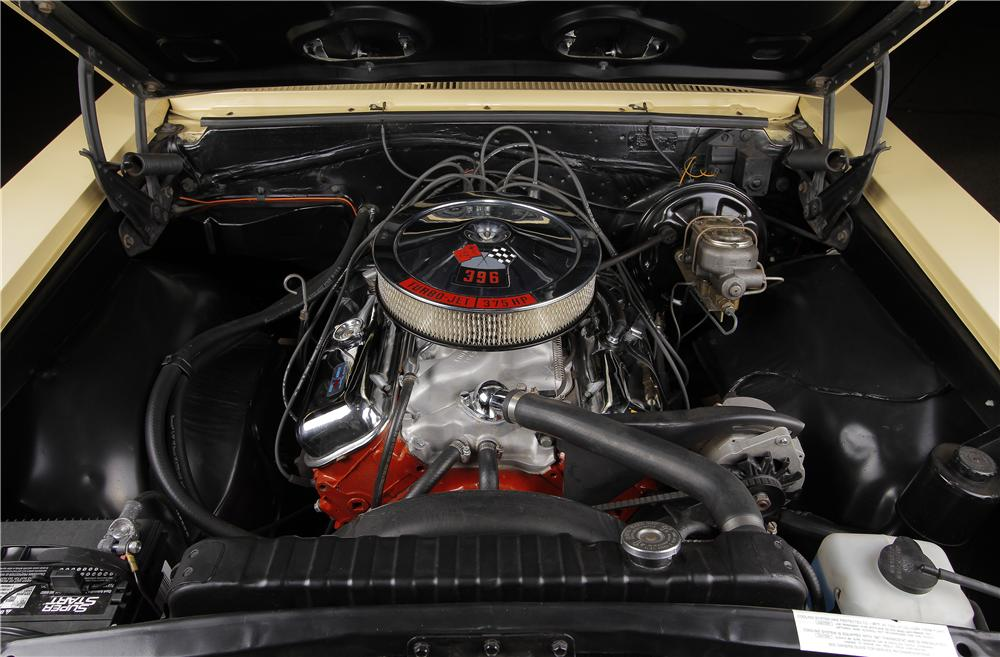 1966 CHEVROLET CHEVELLE SS 2 DOOR COUPE - Engine - 157599