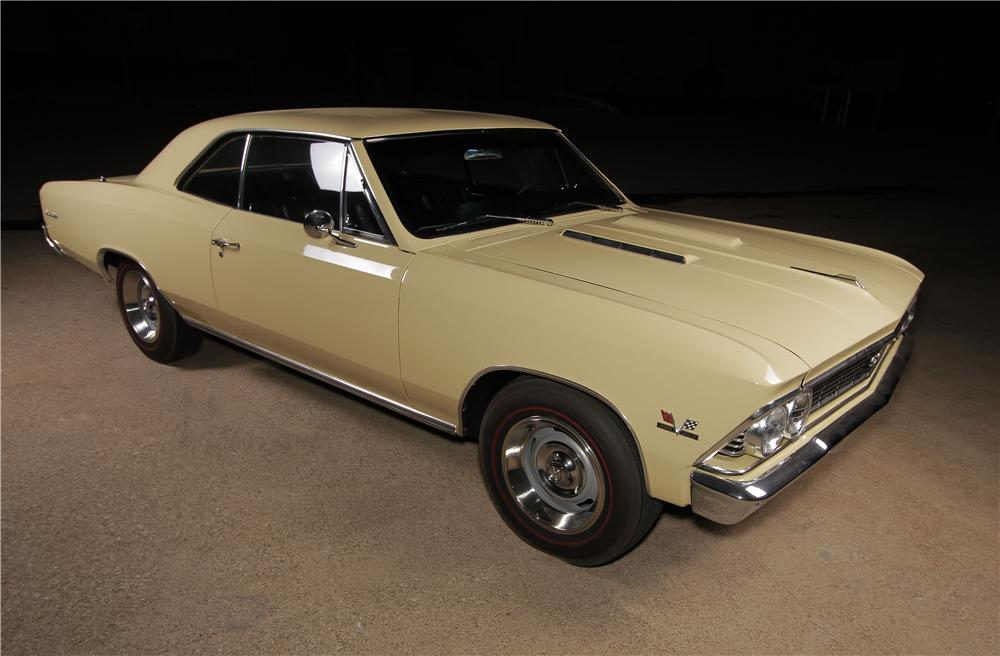 1966 CHEVROLET CHEVELLE SS 2 DOOR COUPE - Front 3/4 - 157599