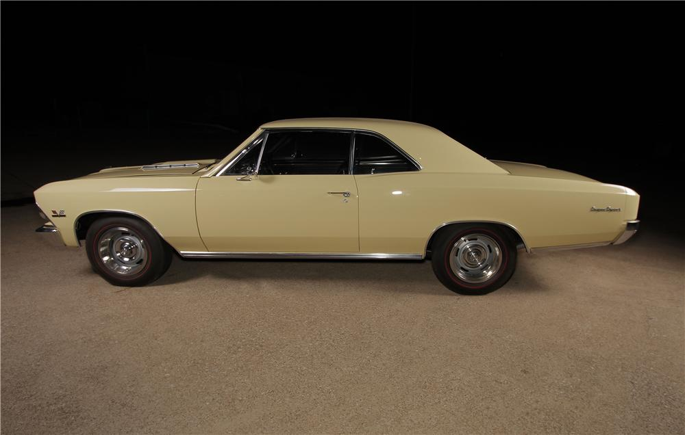 1966 CHEVROLET CHEVELLE SS 2 DOOR COUPE - Side Profile - 157599