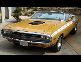 1971 DODGE CHALLENGER CONVERTIBLE -  - 15760