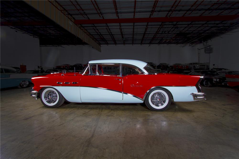 1956 BUICK SPECIAL 2 DOOR COUPE - Side Profile - 157606